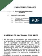 Materiales Macromoleculares Tema 1