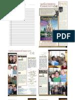 Gathering Bulletin January 25, 2009