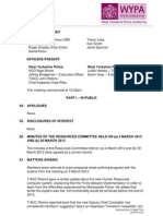 West Yorkshire Police Authority Minutes 25-05-12