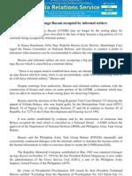 oct13 Libingan ng mga Bayani occupied by informal settlers