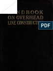 Handbook on Overhead Line Construction