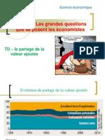 TD Sous-thème 4 partage valeur ajoutée 2012-2013
