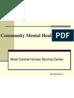 Community Mental Health Clinical Presentation 2
