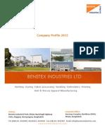 Benetex Profile 2012 Updated