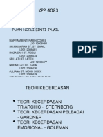 Presentation Untuk Psikologi April 2012