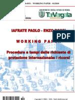 Procedure e tempi delle richieste di protezione internazionale