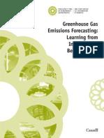 Greenhouse Gas Emissions Forecasting