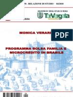 Programma bolsa familia e microcredito in Brasile