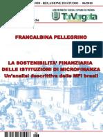 La sostenibilità finanziaria delle istituzioni di microfinanza