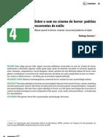 Sobre o Som No Cinema de Horror - Rodrigo Carreiro