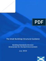 The Small Buildings Structural Guidance