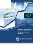 Economic Instruments for Long-term Reduction in Energy-based Carbon Emissions