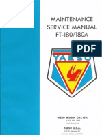 FT-180-180A Manual de servicio en inglés