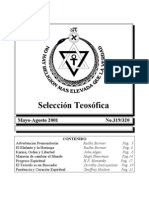 Selección Teosófica - May 2001