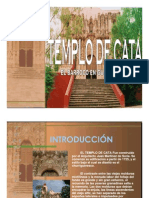 Templo de Cata Churrigeresco en Guanajuato