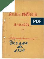 Carta de Alforria - Década de 1930