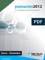 Programa Anual de Capacitaciones Tecsup 2012