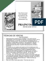 Técnicas de Ventas PrAInCoDeReCi