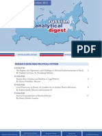 Russian Analytical Digest 118