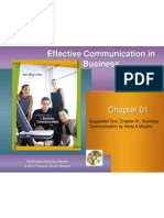 Business Communication Chapter 01