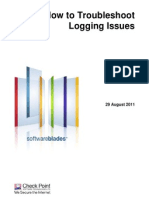How to Troubleshoot Logging Issues