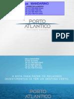 PORTO ATLÂNTICO BUSINESS SQUARE da Odebrecht no PORTO MARAVILHA - RIO - Corretor MANDARINO -  e-mail