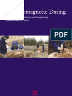 Archaeomagnetic Dating Guidelines