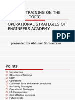 ppt minor training MBA