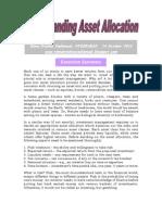 Understanding Asset Allocation VRK100 14Oct2012