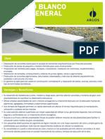 Cemento Blanco Uso General