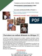 Annonce Parrainage 2013