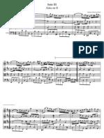 Air in G Bach Partituur