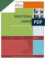 Miastenia Grave Word