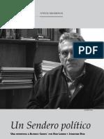 Entrevista a Alfredo Crespo