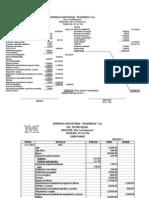 Ejemplo de Contabilidad de Costos Caso Maderesa