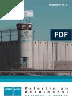 Palestinian detainees