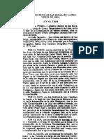 Ley 23604 Creación del Distrito de San Borja