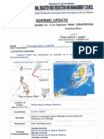 NDRRMC SWB No.12 Re Typhoon Nina
