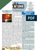 """2012-10-14 """"El Conquistador"""" Boletín Semanal de la casa de Todos"""