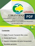Sostenibilidad Ambiental en El Sector de Transporte