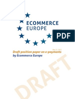 2012 Draft Position Paper E-Payments
