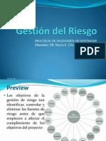 GESTIÓN DEL RIESGO 2012
