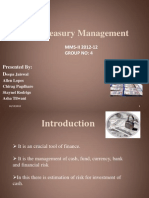 Treasury Management- Final