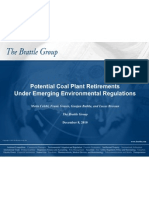 Potential Coal Plant Retirements Under Emerging Environmental Regulations