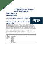 Blackberry Enterprise Server Installation