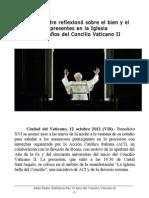 Santo Padre. Reflexión tras 50 años del Concilio Vaticano II