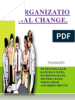 Organizational Change Final