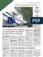 Entrevista a JA Gil Lahorra, gerente del sector III, en Heraldo de Aragón