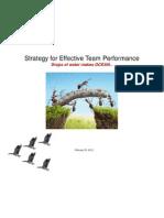 Effective Team Performance - Final