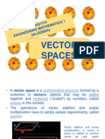 WEEK 5 - Vector Space, Subspace